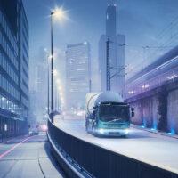 Volvo elektriniai vilkikai